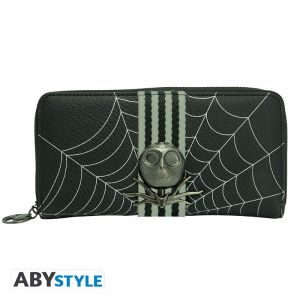 Nightmare Before Christmas: Halloween Fund Jack Skellington Zip Purse