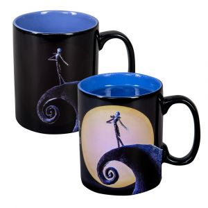The Nightmare Before Christmas: Dancing In the Dark Giant Heat Change Mug