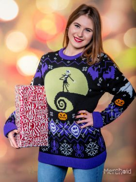 Nightmare Before Christmas: 'What's This?' Ugly Christmas Sweater/Jumper