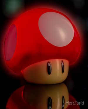 Super Mario: Level Up Mushroom Light