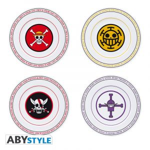 One Piece: Emblems Plate Set