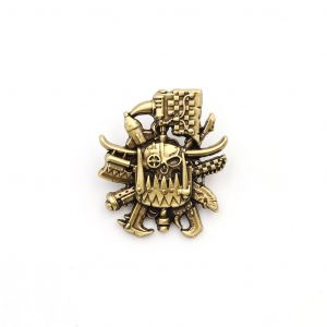 Warhammer 40,000: Ork Artifact Pin Badge