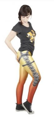 Overwatch: Cheers Love, Cavalry's Here Tracer Premium Leggings