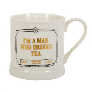 Peaky Blinders: 'I'm A Man Who Drinks Tea' Vintage Mug
