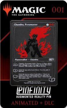 Magic The Gathering: Chandra, Pyromaster Pinfinity AR Pin Badge