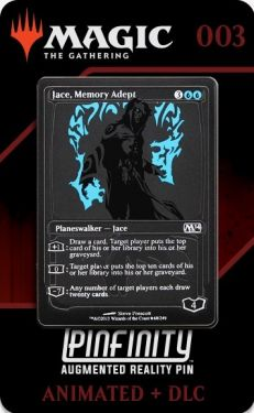 Magic The Gathering: Jace, Memory Adept Pinfinity AR Pin Badge