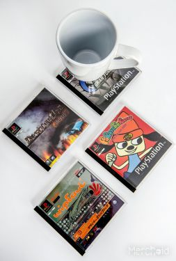 PlayStation: Go With the Flow Vol 1 Coasters