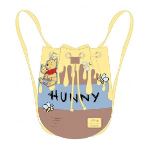 Winnie The Pooh: 95th Anniversary Honeypot Convertible Loungefly Bucket Backpack Preorder