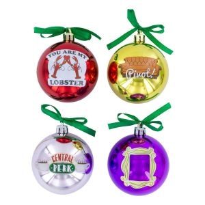 Friends: Set Of 4 Tree Decorations Preorder