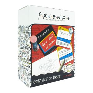 Friends: Quiz, Act or Draw Game Preorder