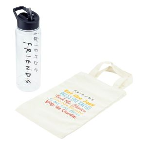 Friends: Water Bottle and Tote Bag Gift Set Preorder