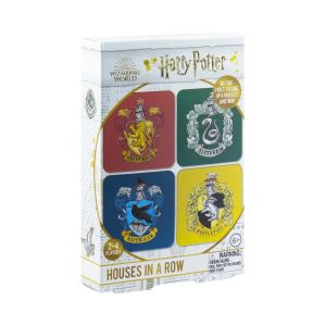 Harry Potter: Hogwarts Houses In A Row Game