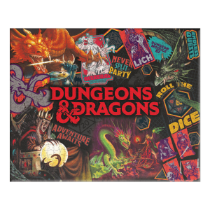 Dungeons & Dragons: 1000pc Jigsaw Puzzle Preorder