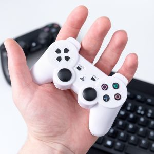 PlayStation: White Controller Stress Ball