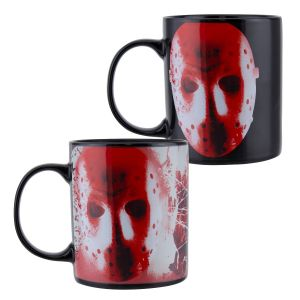 Friday The 13th: Jason Mask Heat Change Mug Preorder