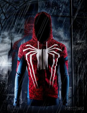 Spider-Man: White Spider Premium Hoodie