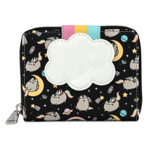 Pusheen: Rainbow Unicorn Loungefly Zip Around Purse