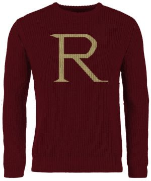 Harry Potter: Wintertime Weasleys 'R' Replica Christmas Sweater