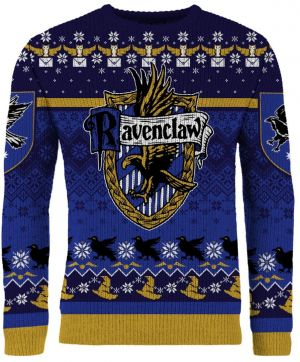 Harry Potter: Ready For Presents Ravenclaw Christmas Jumper