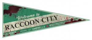 Resident Evil: Welcome To Raccoon City Pennant Flag