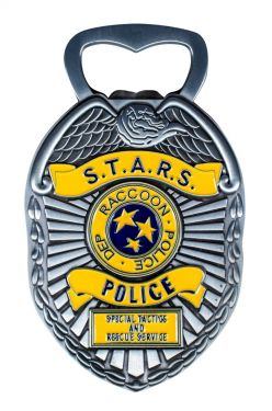 Resident Evil 2: S.T.A.R.S. Badge Bottle Opener