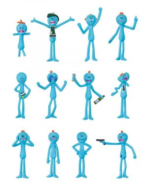 Rick and Morty: Christmas Is Pain Mr Meeseeks Xmas Decorations (12 Pack)