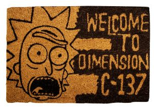 Rick and Morty: Take your Brain to Another Dimension Doormat