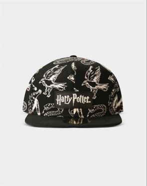 Harry Potter: B&W Mascot Cap Preorder