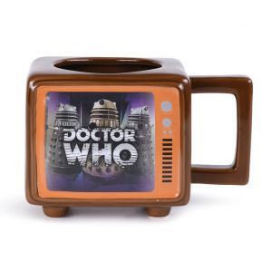 Doctor Who: 'Hide Behind The Sofa' Heat Change TV Mug