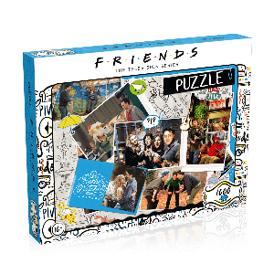 Friends: Scrapbook 1000pc Puzzle
