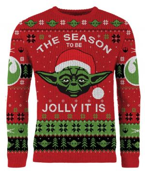 Star Wars: The Season To Be Jolly It Is Christmas Jumper