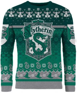 Harry Potter: Slytherin' Through The Snow Knitted Christmas Sweater