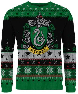 Harry Potter: Slytherin Knitted Christmas Sweater