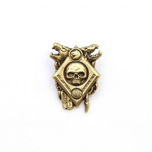 Warhammer 40,000: Space Wolf Artifact Pin Badge