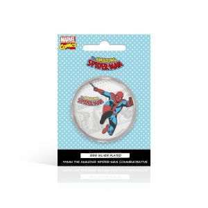 Spider-Man: .999 Silver Plated Commemorative Coin