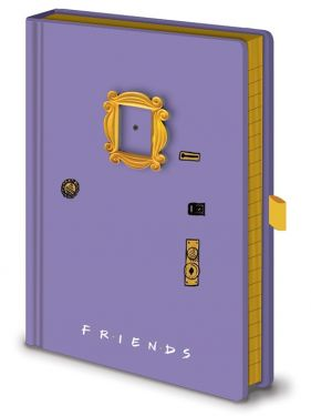 Friends: Door Premium A5 Notebook