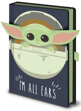 Star Wars: The Mandalorian The Child/Baby Yoda I'm All Ears Notebook