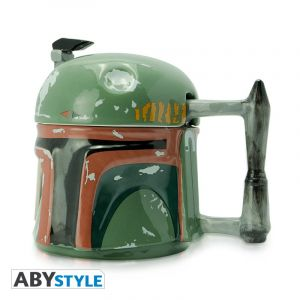 Star Wars: The Original Mandalorian Boba Fett 3D Mug