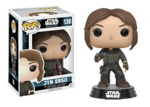 Star Wars: Rogue One Jyn Erso Pop! Vinyl Bobblehead Figure