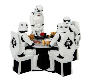 Stormtrooper: Poker Face 18.3cm Statue Preorder