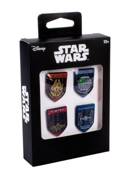 Star Wars: Vehicle 4 Pin Set