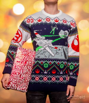 Star Wars: X-Wing v TIE Fighter Ugly Christmas Sweater/Jumper