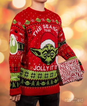 Star Wars: The Season To Be Jolly It Is Ugly Christmas Sweater/Jumper