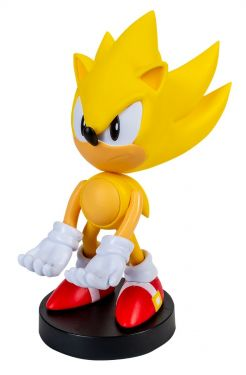 Sonic The Hedgehog: Super Sonic 8 inch Cable Guy Phone and Controller Holder