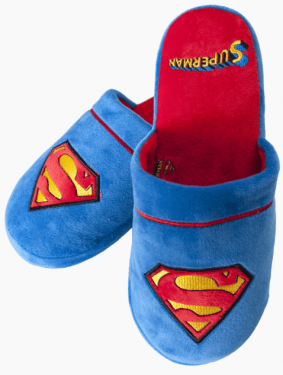 Superman: Kryptonian Comfort Slippers