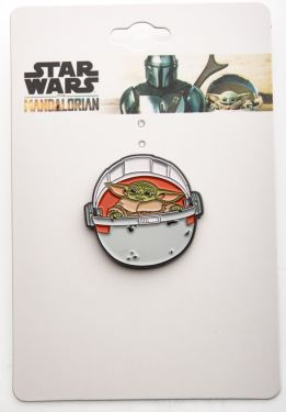 Star Wars: The Mandalorian The Child/Baby Yoda In Pod Enamel Pin