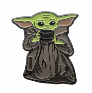 Star Wars: The Mandalorian The Child/Baby Yoda Soup Bowl Pin
