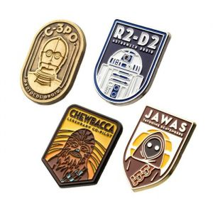 Star Wars: 4 Pin Set