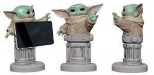 Star Wars: The Mandalorian The Child/Baby Yoda 8 inch Cable Guy Phone and Controller Holder