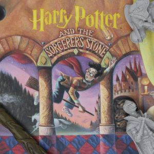 Harry Potter: Philosopher's Stone Book Cover Artwork Preorder